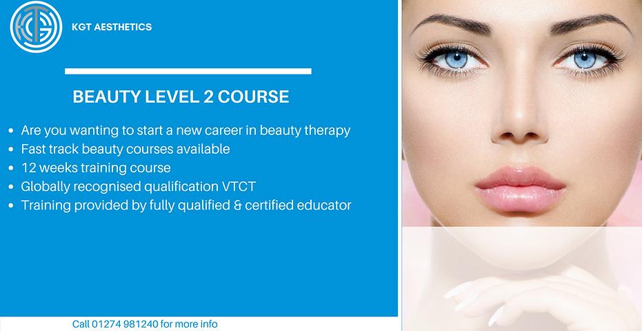 Beauty Level 2 Course