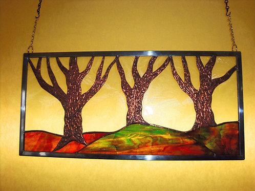 3 Copper Trees
