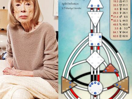 Joan Didion's Human Design Chart