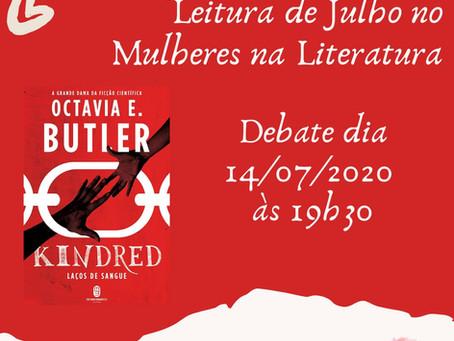 A obra de Octávia Butler será debatida no Clube da Leitura
