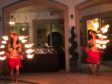 The Most Amazing Hawaiian Fire Dancers!