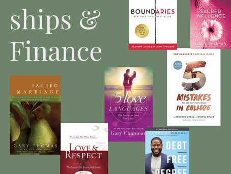 Relationship & Finance Books