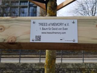 1. Baum der Erinnerung in Frankfurt/Main