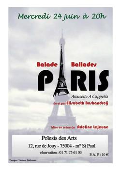 Balade balade à Paris