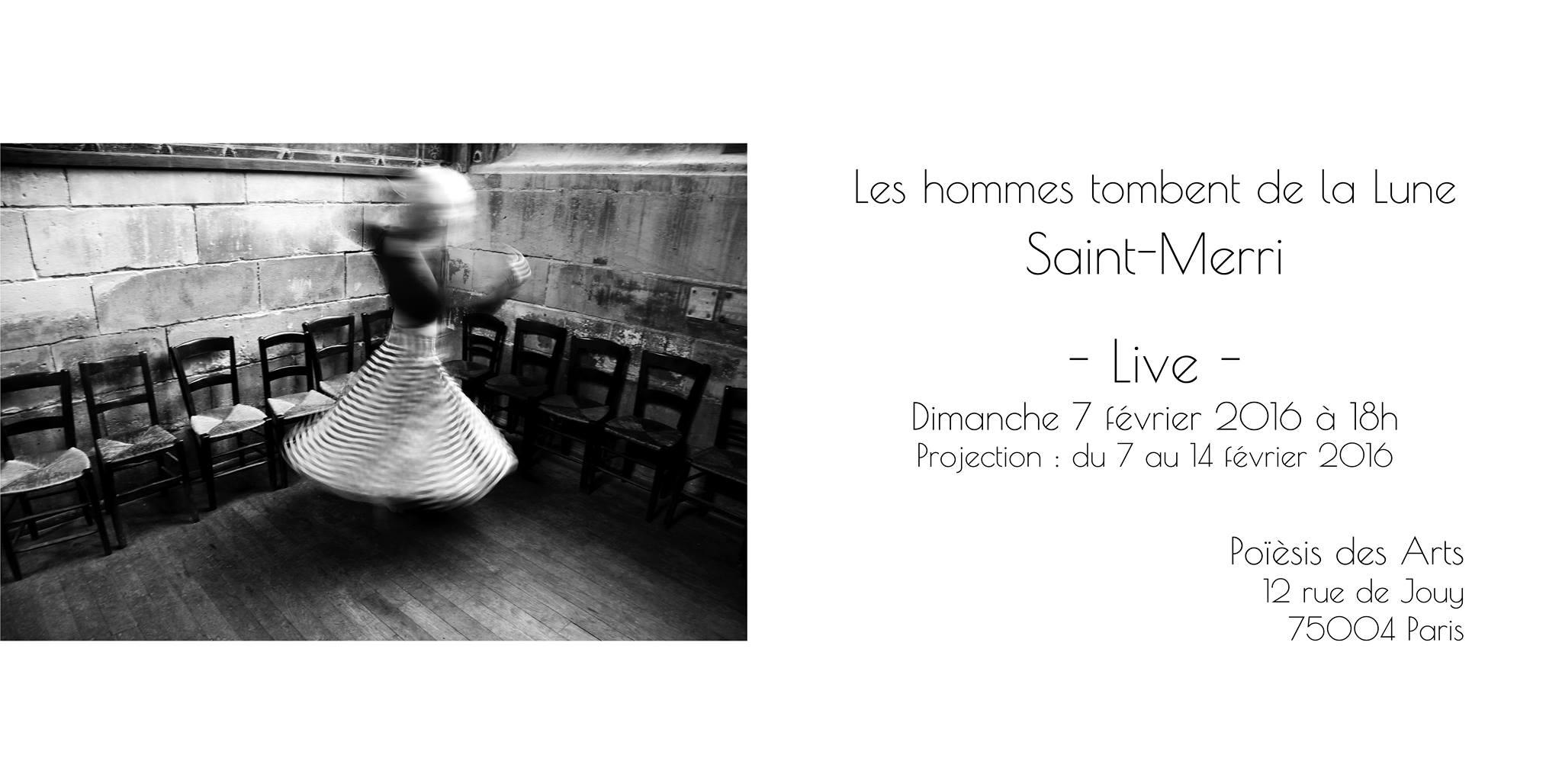 Projection + concert