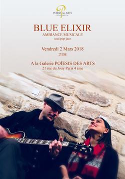 Affiche Blue Elixir