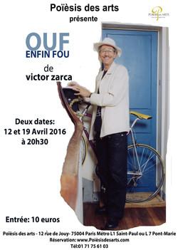 """""""Ouf enfin ouf""""  Victor Zarca"""