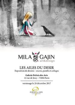 Exposition de Mila Gajin