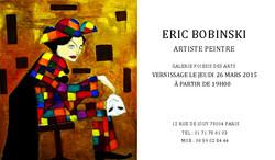 1-Vernissage Eric Bobinski