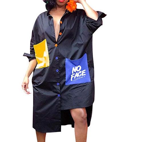 No Face Shirt Dress 2