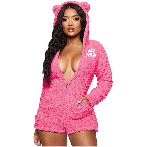 Fuzzy Bear Onesie