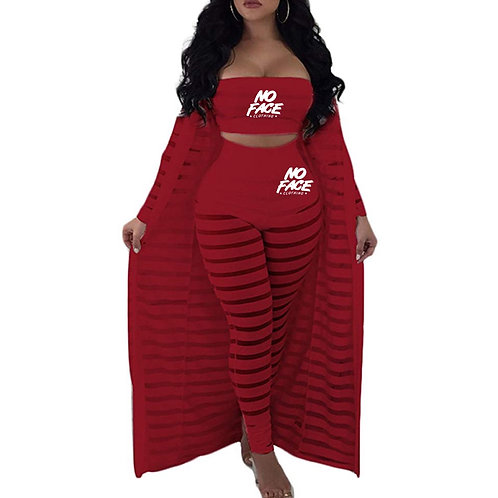 Pant Set with cover up
