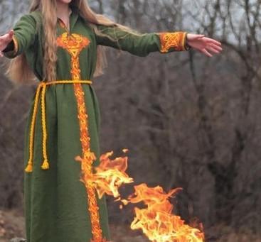 Historia Sigrun 5. Ogień pod jej stopami.