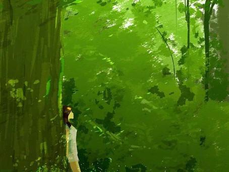 Myślę do niej zieleń (z esencji serca)