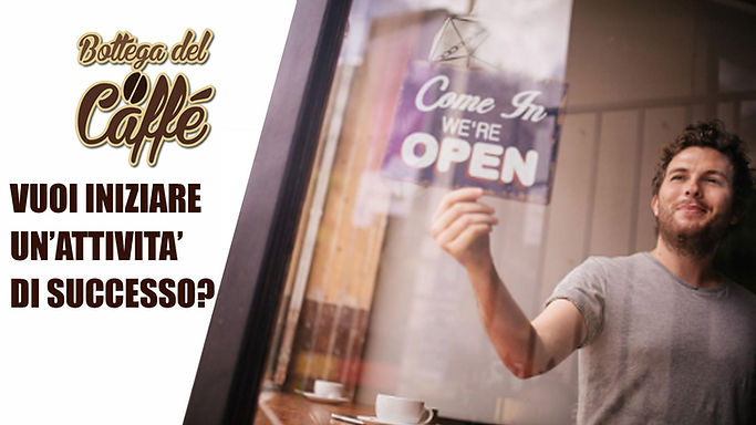 apri il tuo negozio bottega del caffè