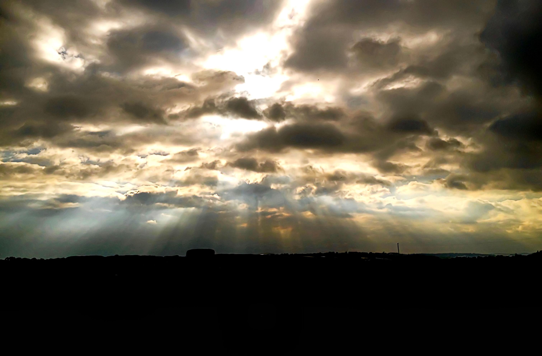 Cloudburst Oakham Leicestershire