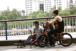 Riders of the south Bank