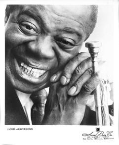 Louis Armstrong promo photograph