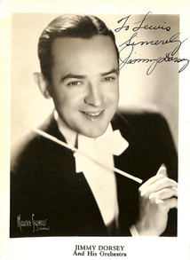 Jimmy Dorsey - autographed 1941