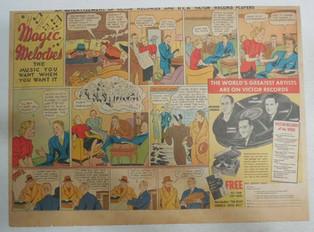 A vintage big band cartoon - Victor recording artists, 1937