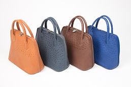 Karoo Collection Ostrich Leather Handbags