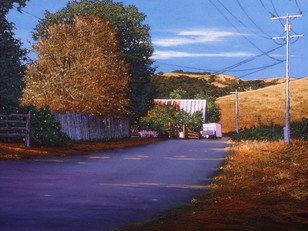 Road to Farley's Barn