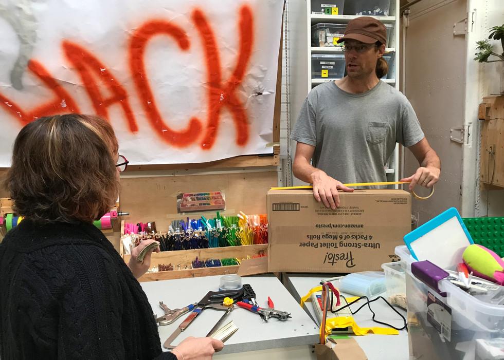 toy hack station