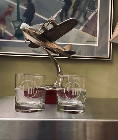 Pair of Stookey's Double-Old Fashioned Glasses