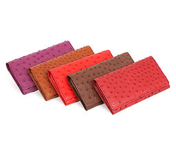 Karoo Collection Ostrich Leather Clutches