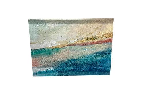 """Art Block """"Blushing Dunes"""""""