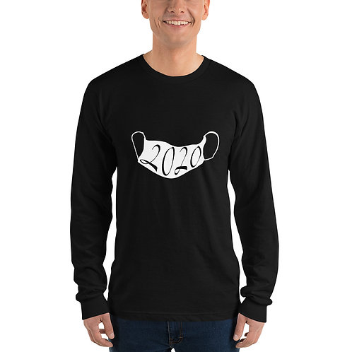 2020 Mask Design on aLong sleeve t-shirt