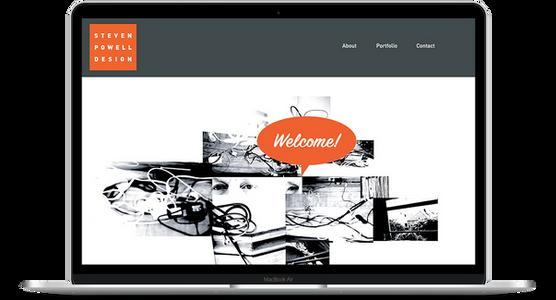 Steven Powell Design - Designer Website