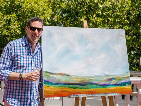 Gay Wine Weekend Painting - July 18th to 21st