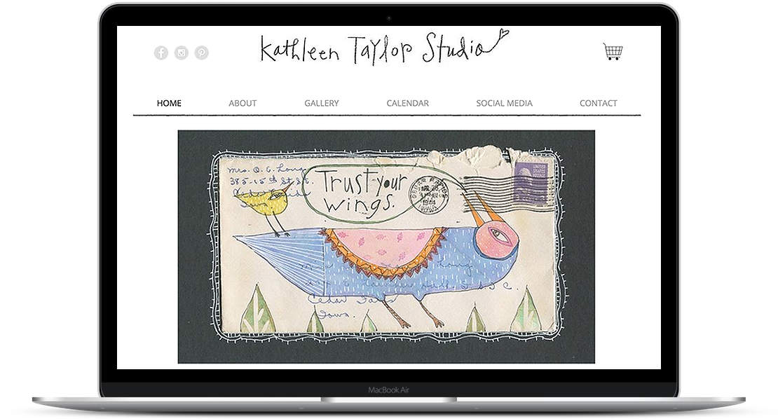 Kathleen Taylor Studio - Artist Website and e-commerce