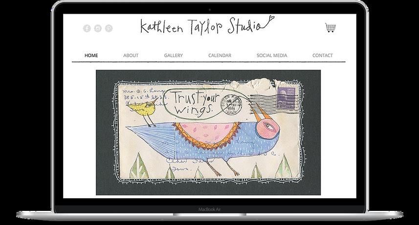 Kathleen Taylor Studio - Artist Website and e-commerce