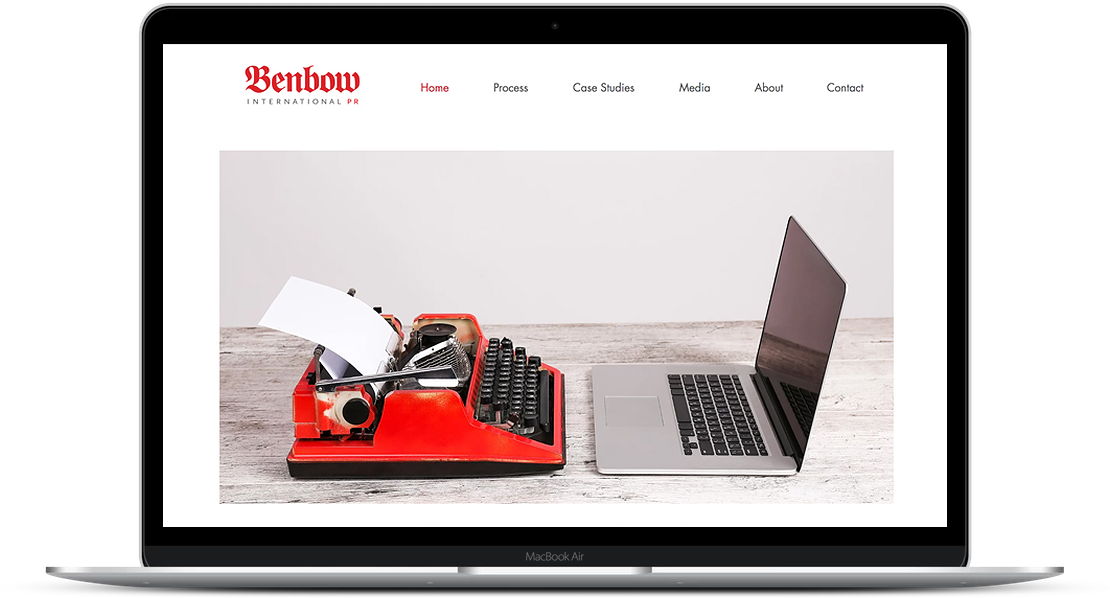 Benbow International - Public Relations Website