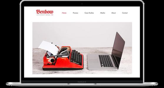 Benbow International - Public Relations Website