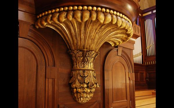 Organ Case Detail