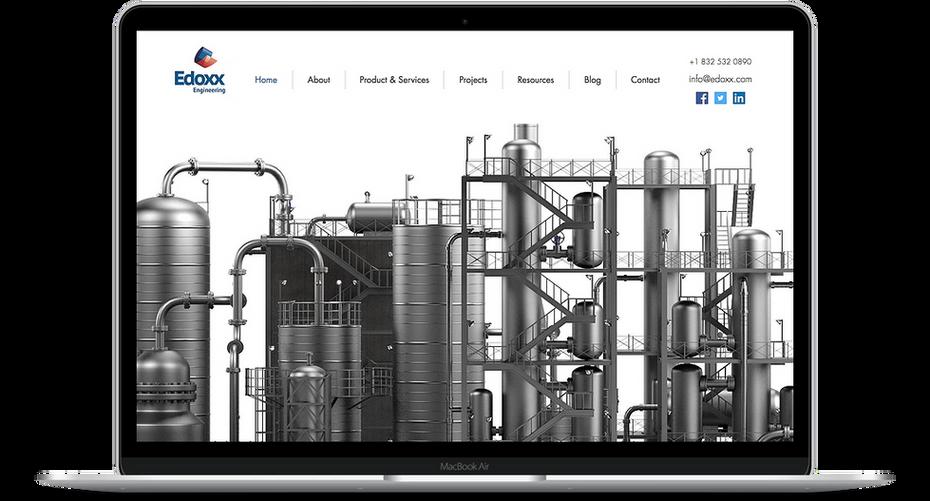 Edoxx Engineering - Engineering Website