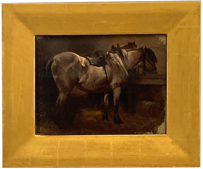 19th Century Horse Painting