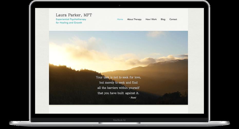 Laura Parker - Therapist Website