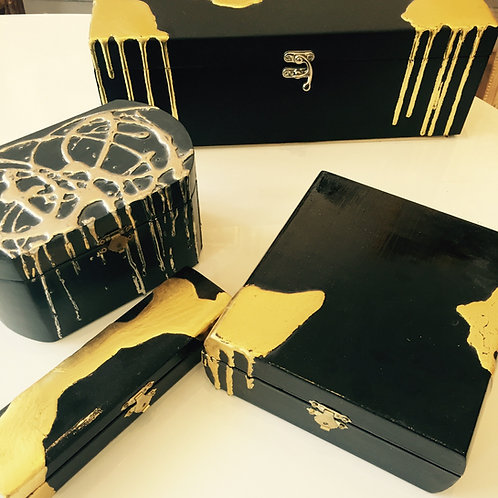 "'Gold Splash"" boxes"