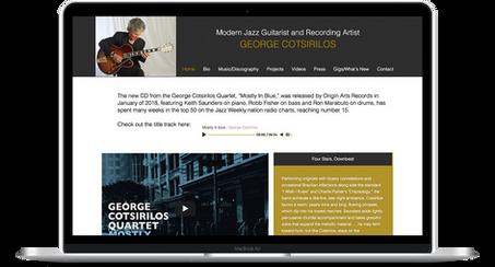 George Cotsirilos - Musician Website