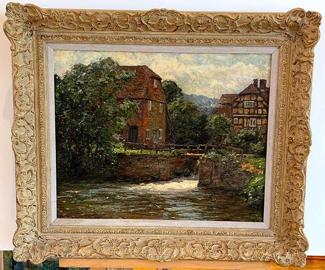 Painting of a Mill