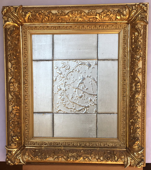 Late 19th C. American Barbizon frame