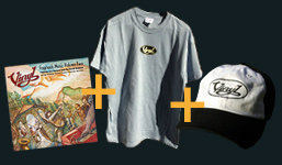 FogShack Music Vol 2 on CD + T Shirt & Cap