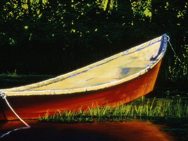 The Red Rowboat