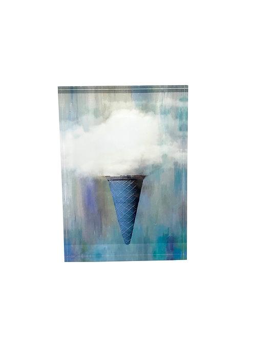 "Art Block ""Ice Cream Clouds"""