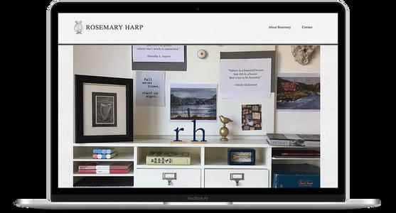 Rosemary Harp - Author Website