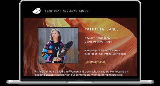 Heartbeat Medicine Lodge - Artisan Website